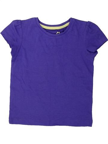 Camiseta de manga corta niña TU violeta 2 años verano #1423642_1
