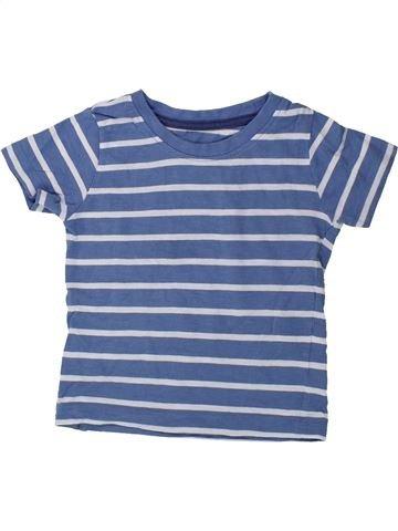 Camiseta de manga larga niño SANS MARQUE azul 18 meses verano #1423734_1