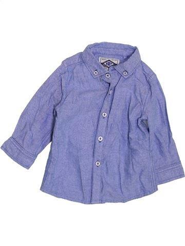 Camisa de manga larga niño NEXT azul 9 meses invierno #1423771_1