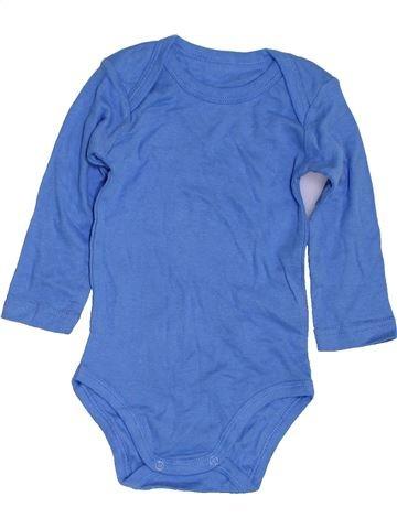 Camiseta de manga larga niño SANS MARQUE azul 12 meses invierno #1423802_1