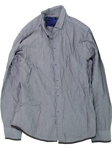 Chemise manches longues garçon DEBENHAMS gris 11 ans hiver #1424025_1