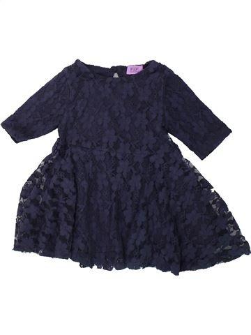 Vestido niña F&F azul 9 meses invierno #1424106_1
