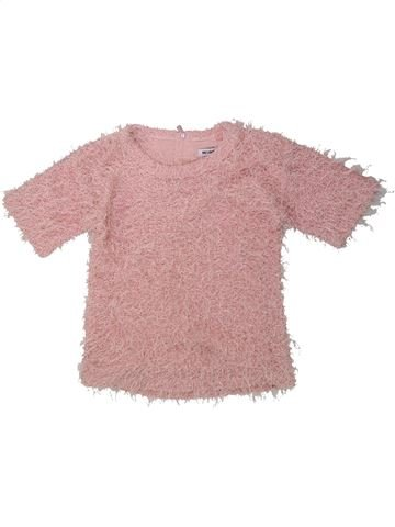 Pull fille PEP&CO rose 7 ans hiver #1424165_1