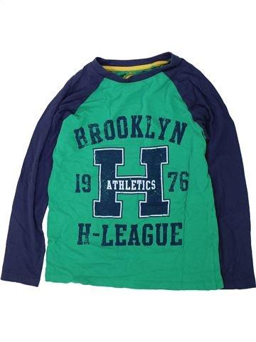 Camiseta de manga larga niño DEBENHAMS verde 9 años invierno #1424243_1
