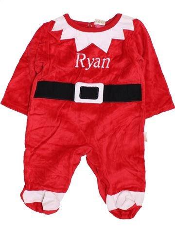 Pyjama 1 pièce garçon SERGENT MAJOR rouge 1 mois hiver #1424272_1