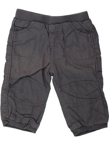 Pantalon garçon SMILE gris 6 mois hiver #1424320_1