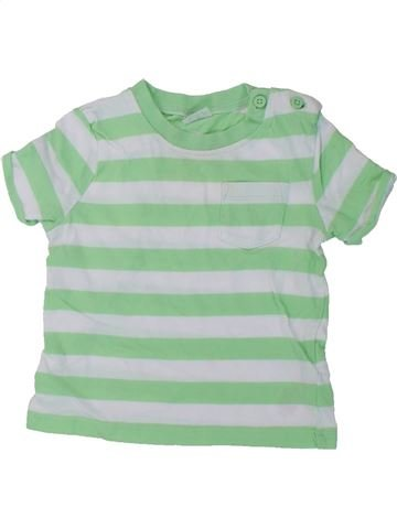 Camiseta de manga corta niño F&F verde 9 meses verano #1424460_1