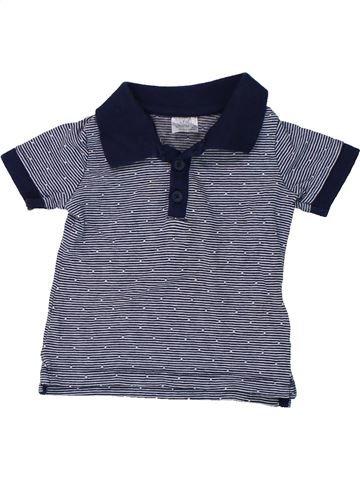 Polo de manga corta niño F&F azul 3 meses verano #1424471_1