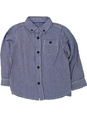 Camisa de manga larga niño NUTMEG gris 4 años invierno #1424483_1