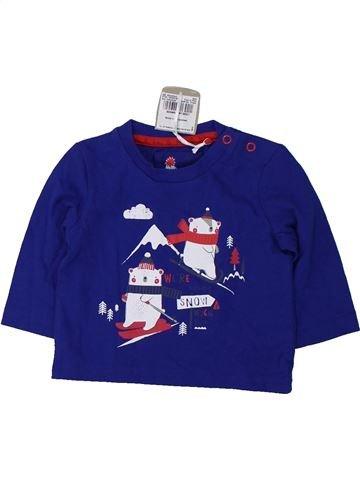 Camiseta de manga larga niño TU azul 3 meses invierno #1424531_1