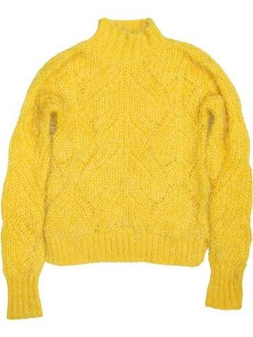 jersey niña GEORGE amarillo 8 años invierno #1424573_1