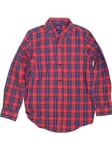 Camisa de manga larga niño GAP violeta 11 años invierno #1424589_1