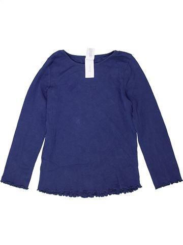 Camiseta de manga larga niña C&A azul 6 años invierno #1424746_1
