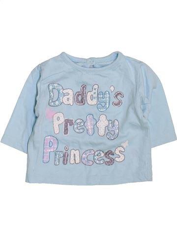 Camiseta de manga larga niña F&F azul 0 meses invierno #1424796_1