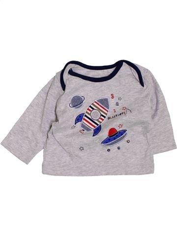 Camiseta de manga larga niño TU gris 1 mes invierno #1424799_1