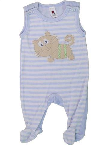 Pijama de 1 pieza niño C&A gris 1 mes invierno #1424883_1