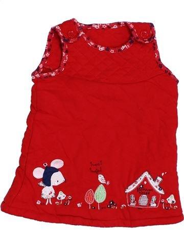 Vestido niña TU rojo 9 meses invierno #1424968_1