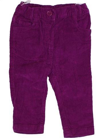 Pantalon fille C&A violet 6 mois hiver #1425579_1