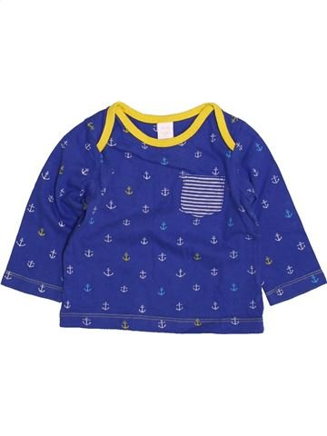 Camiseta de manga larga niño MINI CLUB azul 9 meses invierno #1425681_1