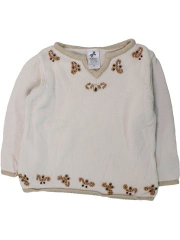 Pull fille C&A blanc 3 ans hiver #1425782_1