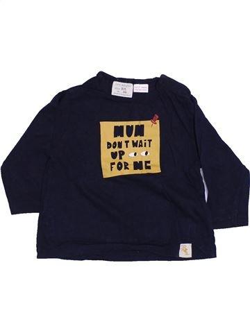 T-shirt manches longues garçon ZARA noir 6 mois hiver #1425881_1