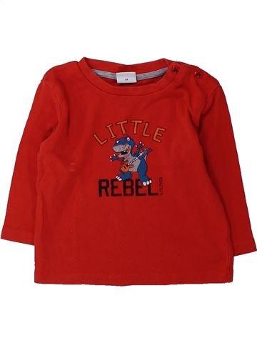 T-shirt manches longues garçon S.OLIVER rouge 6 mois hiver #1425894_1