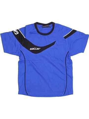 T-shirt manches courtes garçon SALLER bleu 10 ans été #1426386_1