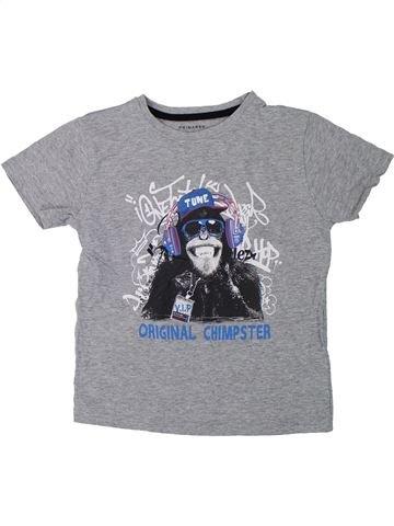 T-shirt manches courtes garçon PRIMARK gris 7 ans été #1426435_1