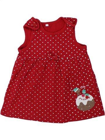 Vestido niña DEBENHAMS rojo 9 meses invierno #1426678_1