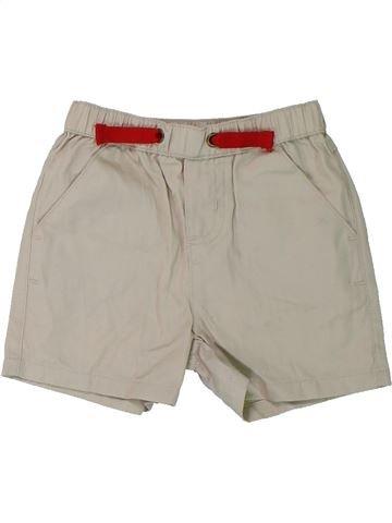 Short - Bermuda garçon SANS MARQUE beige 6 mois été #1427028_1