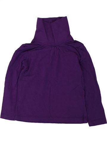Camiseta de cuello alto niña LUPILU violeta 4 años invierno #1427050_1