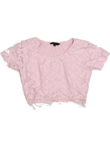 T-shirt manches courtes fille CANDY COUTURE blanc 11 ans été #1427054_1