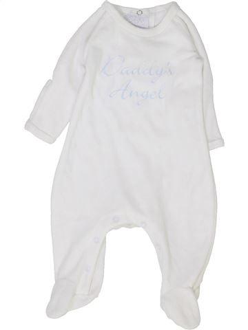 Pijama de 1 pieza niño MUD PIE blanco 6 meses invierno #1427186_1