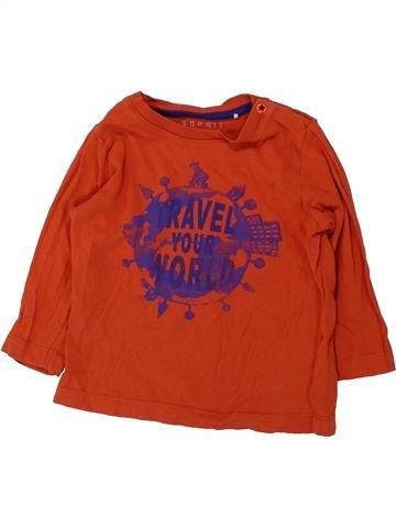 Camiseta de manga larga niño ESPRIT rojo 18 meses invierno #1427279_1