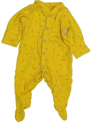 Pyjama 1 pièce garçon MOTHERCARE jaune prématuré été #1427425_1