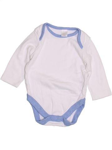 Camiseta de manga larga niño MINI CLUB blanco 6 meses invierno #1427548_1
