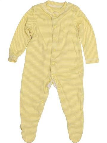 Pijama de 1 pieza unisex JOHN LEWIS beige 9 meses verano #1428316_1