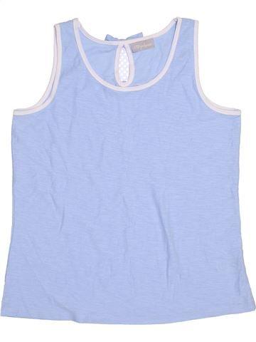 T-shirt sans manches fille I LOVE GIRLSWEAR bleu 13 ans été #1428520_1