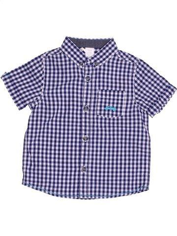 Camisa de manga corta niño MINI CLUB gris 18 meses verano #1428570_1