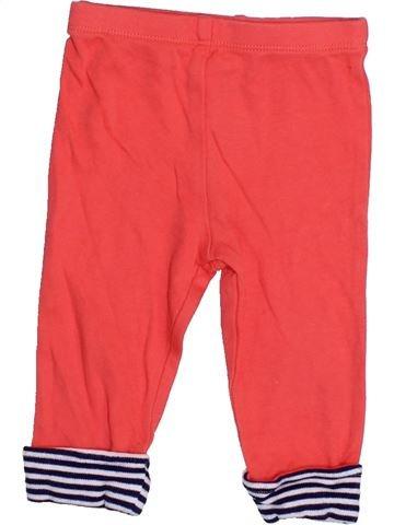 Legging fille SANS MARQUE orange 9 mois hiver #1428639_1