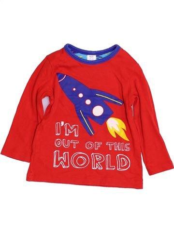 Camiseta de manga larga niño MINI CLUB rojo 3 años invierno #1429179_1