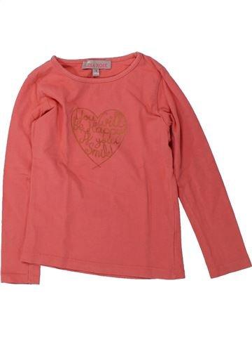 Camiseta de manga larga niña LISA ROSE rosa 4 años invierno #1429435_1
