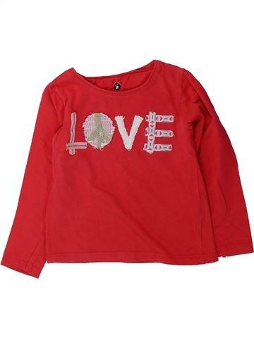 T-shirt manches longues fille GENERATION Z rouge 2 ans hiver #1429628_1