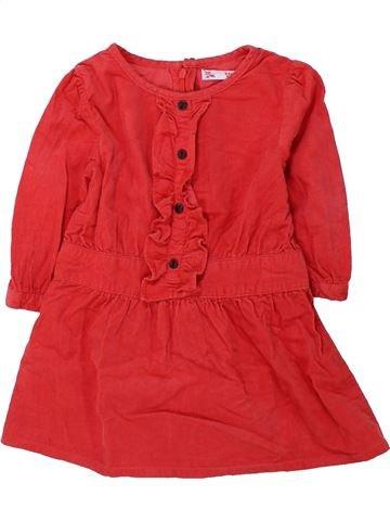 Vestido niña DPAM rojo 3 años invierno #1429668_1