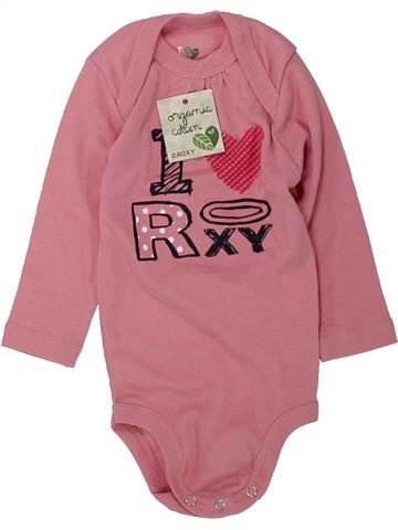 T-shirt manches longues fille ROXY rose 6 mois hiver #1429710_1