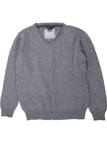 Pull garçon ZARA gris 6 ans hiver #1429732_1