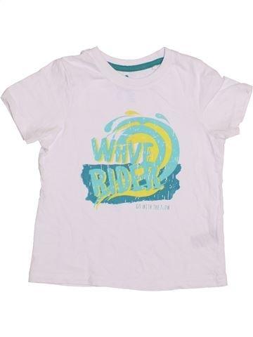 Camiseta de manga corta niño LUPILU blanco 4 años verano #1429842_1