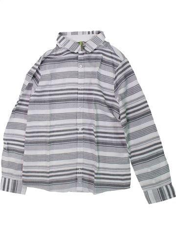 Chemise manches longues garçon ORCHESTRA gris 10 ans hiver #1429935_1