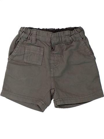 Short - Bermuda garçon PETIT BATEAU gris 3 mois été #1430351_1