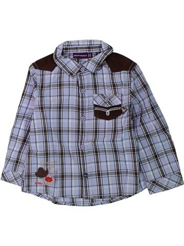 Chemise manches longues garçon SERGENT MAJOR bleu 18 mois hiver #1430421_1